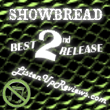 Showbread's 'Age of Reptiles' - Best Second Release Award Winner