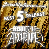 Becoming The Archetype's 'Celestial Completion' - Best Fifth Release Award Winner